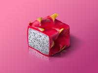 Pitaya @ World of Isometric Fruits