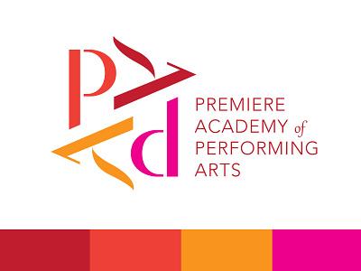 PAPA Dance performing arts ballet dance branding logo