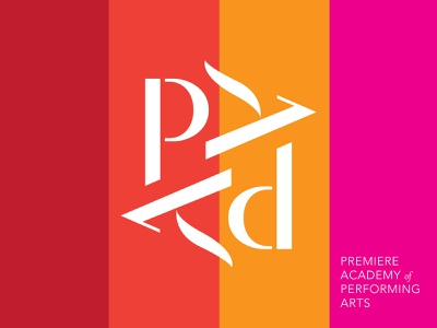 PAPA Dance performing arts branding performing arts dance ballet branding logo