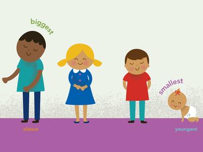 All the Little Children illustration kids baby children