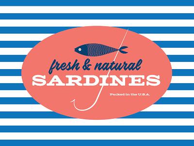 Sardines seafood food packaging fish sardines