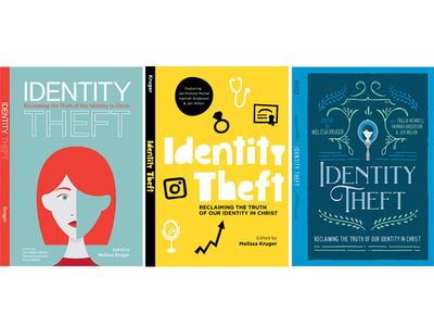 Identity Theft mirror cover design book cover identity theft