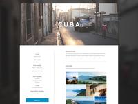 CF's Missions Website Concept