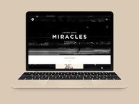 CF's Messages Website Concept