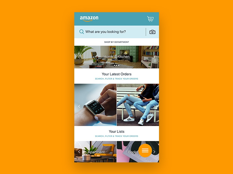Acvdo amazon homescreen