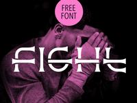 Fight / Free font