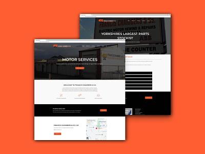 Francis Chambers   Website Page Layouts ui layout design ui design web development website design web design website web