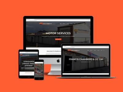 Francis Chambers Responsive Web design & Development