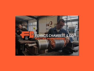Francis Chambers Ltd | Vectorising a 70+ Year Old Logo logotypes vector illustration wordmark logotype design graphic designer sketching branding brand hand lettering typography icon iconography monogram identity