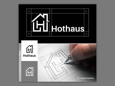 Hothaus Property Ltd | Logo Design Process logogrid logotypes vector illustration wordmark logotype design graphic designer sketching branding brand hand lettering typography icon iconography monogram identity