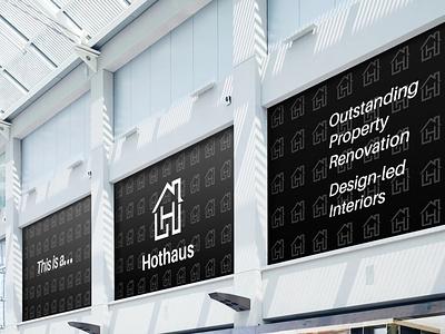 Hothaus Property Ltd | Logo & Brand Identity Design logotypes vector illustration wordmark logotype design graphic designer sketching branding brand hand lettering typography icon iconography monogram identity
