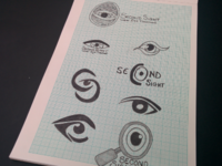 Second Sight Initial Concept Sketches