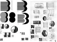 CHIC Blinds and Curtains Concept Sketches