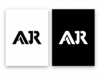 AJR Group™ Logo Design | Black & White