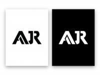 AJR Group™ Logo Design | Black & White