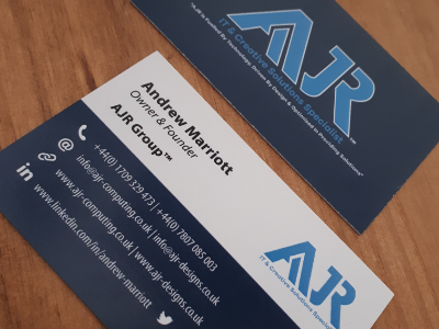 Ajr Group Business Card Design By The Logo Creative