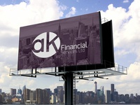 Ak Financial Services Logo Design