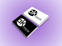 ak Financial Services | Logo Design