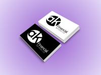 ak Financial Services | Logo Design