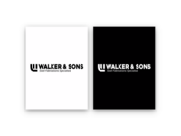 Walker & Sons Fabrications | Logo Design