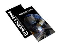 Walker & Sons Fabrications | Leaflet Design