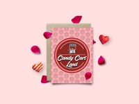 Candy Cart Land Logo Design