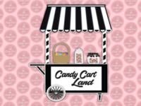 Candy Cart Land | Sweet Cart Illustration