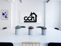 Chimney Cake House | Monogram Logo