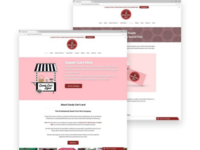 Candy Cart Land | Wirefame Designs