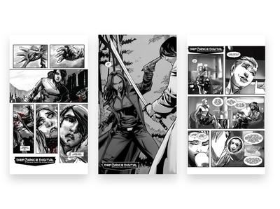 Defiance Digital   Identity Design Comic Strips