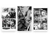 Defiance Digital | Identity Design Comic Strips