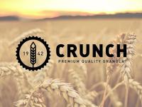Crunch – Premium Granola Logo
