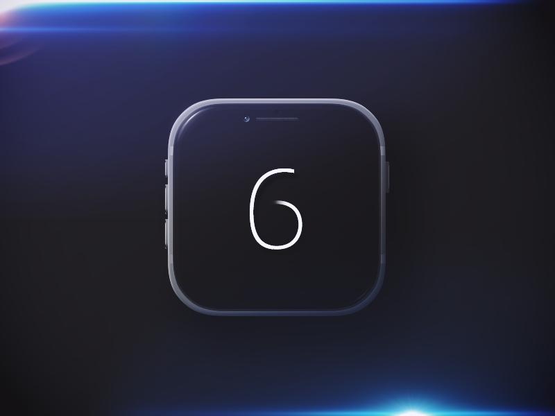 Iphone6 icon iphone iphone6 photoshop