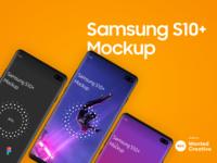 Samsung S10  Mockup