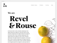 Revel and Rouse: Website