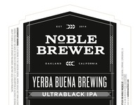 Noble Brewer: Label