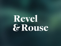 Revel and Rouse: Logo