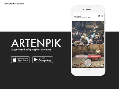 Artenpik Augmented Reality App for Museums invision sketchapp sketch ar augmented reality android ios mobile ui mobile app design mobile design mobile app mobile product design ux design ui design ui ux design