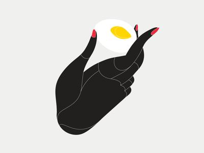 Egg vector design illustration design illustration art egg hand
