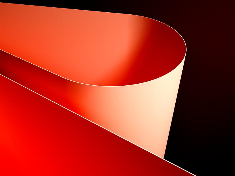 Plates octane cinema 4d cg render design shapes geometric clean simple