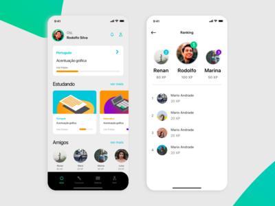 Case - Meta estudos case study design ux case app ui