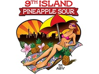 9th Island Pineapple Sour Illustration