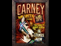 Carney CD release poster