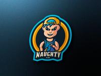Naughty Mascot Logo