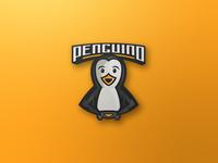 'Penguino' Mascot Logo