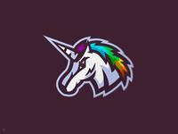 Unicorn Mascot Logo