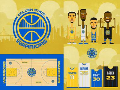 Golden State Warriors Rebrand