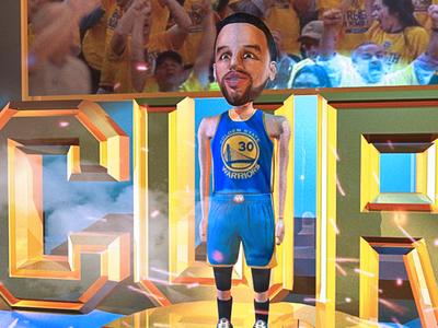 Steph Curry 3D