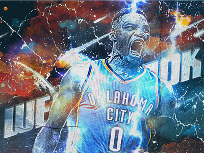 NBA Poster Series: Russell Westbrook