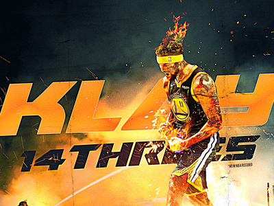 NBA Poster Series: Klay Thompson